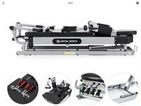 BRAND NEW BOXED RRP £489 CAPITAL SPORTS PILATO PILATES REFORMER BENCH MACHINE ADJUSTABLE HEIGHT