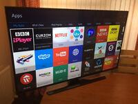"55"" SAMSUNG Smart UHD (4k) LED TV -FREEVIEW HD -WIFI -1000hz -QUAD CORE - WARRANTY"