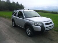 "2004 ""facelift"" Land Rover Freelander td4 diesel with a recent MOT - may swap or px"