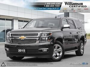 2015 Chevrolet Suburban LTZ**NAVIGATION**LTHR**SUNROOF**BCK UP C