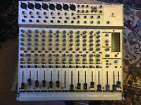 Behringer Eurorack MX2004A Mixing Desk + XLR's