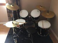 Full size Tornado Mapex drum kit