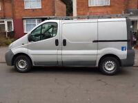 VAUXHALL VIVARO 1.9 CDTI 55 REG SILVER FULL 12 MONTHS MOT FULLY VALETED LOOKS AND DRIVES PERFECT