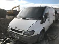 Ford transit van spare parts available engine gearbox axel door light radiator
