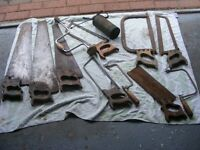 Saws and other tools