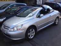 307convertible new shape full mot show room con inside out bargain price car ready to go now