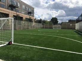 Brand new pitch in Tottenham. 6 a side Leagues starting on Mondays and Wednesdays!