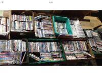 Joblot of 500 X DVDs several lots