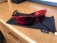 Oakley Radar Path sunglasses - red