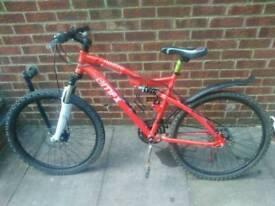 Mfx hellfire mountain bike