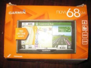 Garmin nuvi 68LM 6 Inch Touchscreen GPS Navigator with Life time US Canada Map Update. Spoken Street Names. Lane Assist