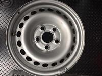 """VW T5 16"""" steel wheels"""