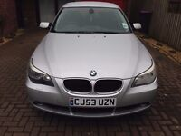 Silver BMW 5 Series 530i Automatic