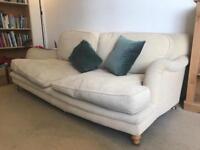Sofa, beige sofa, cord sofa for sale!