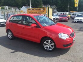 VOLKSWAGEN POLO 1.4 Match 5dr (red) 2008