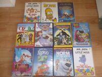 Childrens DVDs £1 each