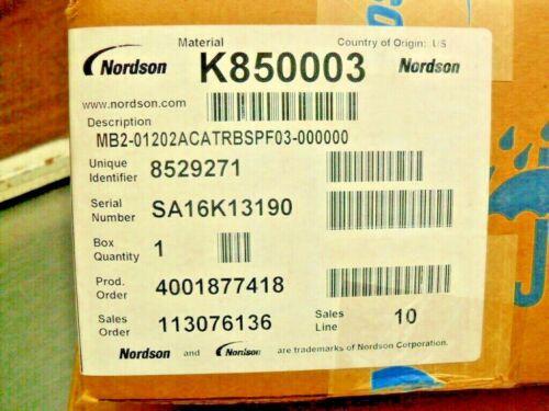 Nordson K850003 Factory Sealed Box 8529271