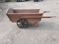 Hand crafted cart