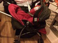 Gracie pushchair travel system