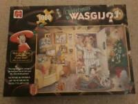 Jumbo Wasgij Christmas 1 1000 piece jigsaw puzzle