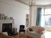 Pair of Matching Two-Seater Cream/White Sofas in Good Condition