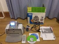 Boxed HP Photosmart A436 Photo Printer+HP Photosmart M627 7.0 MP Camera+Power Cable+Good Condition