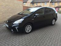 PCO READY 2014 TOYOTA PRIUS+ 1.8 VVTI HYBRID ICON CVT 5 DOOR HATCHBACK AUTOMATIC
