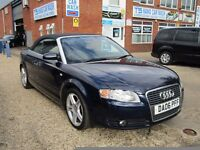 Audi A4 Cabriolet 1.8 T Sport 2dr, FSH, 9 STAMPS + INVOICES