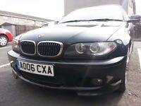 2006 BMW 3 series E46 330Cd M Sport, FSH, 204bhp, 6 spd MT,Xenons, LEDs,Full Leather, Electric Seats