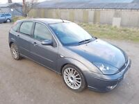 2003 FORD FOCUS 2.0 ST170 5 DOOR HATCHBACK GREY 12 MONTHS M.O.T
