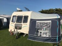 Bailey Olympus 546 6 berth lightweight caravan (Triple bunk) plus 2 Awnings & many accessories