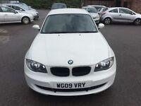 BMW 1 Series 2.0 116d 3dr 2009 (09 reg), Hatchback £4100