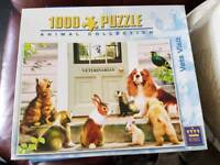 King 1000 piece jigsaw. Vets Visit