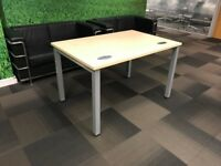 Office Desks/Tables - £75 each, drops to £50 each for taking all 12