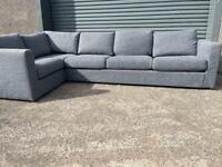 Grey corner sofa, couch, suite, furniture 🚚🚛🚚