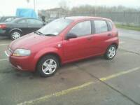 Chevrolet Kalos 1.2 SE 2006 Ruby Red