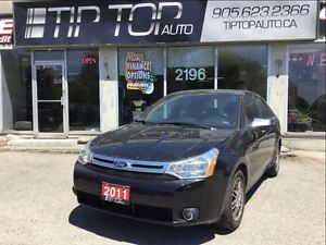 2011 Ford Focus SE ** 2 sets rims/tires, Bluetooth, Low KMs **