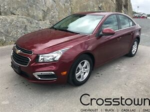 2015 Chevrolet Cruze LT 2LT/SUNROOF/HEATED LEATHER/BLUETOOTH/BAC