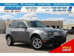 2009 BMW X3 AWD *SUNROOF,AIR CONDITIONING*