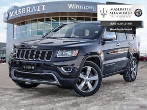 2014 Jeep Grand Cherokee Limited: Leather, Navigation, LOW Kilom