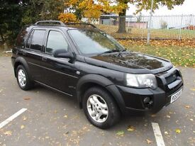 2003 53 LAND ROVER FREELANDER 2.5 V6 PREMIUM SPORT AUTO FSH LOW 66K DVD/PALYSTATION LEATHER PX SWAPS