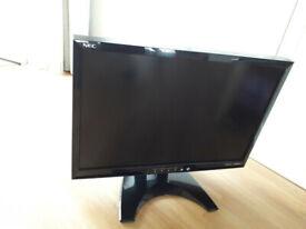 24 inch black monitor - NEC 24WMGX3