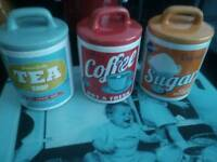 Cannisters retro