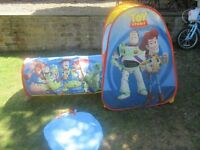 Toy Story tent and tunnel, excellent condition!