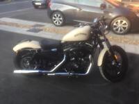Harley Davidson Iron XL883 - Rare Denim Sand Camo (Low Miles)