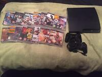 PS3 250 the and 14 games 2 controllers