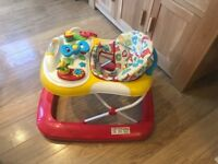 Mothercare Musical Baby Walker
