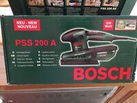 Bosch PS 200 A Orbital Sander, BNIB