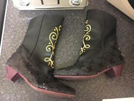 Frozen Anna Disney Store Boots