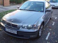 BMW e46 compact 2.0 Diesel LHD Left Hand Drive PL plates